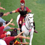 Tommy Trojan and Traveler
