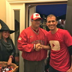 """Trick or Treat!  Great win against Rutgers today, """"Coach Chryst."""""""
