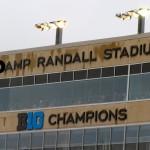 Damp Randall Stadium