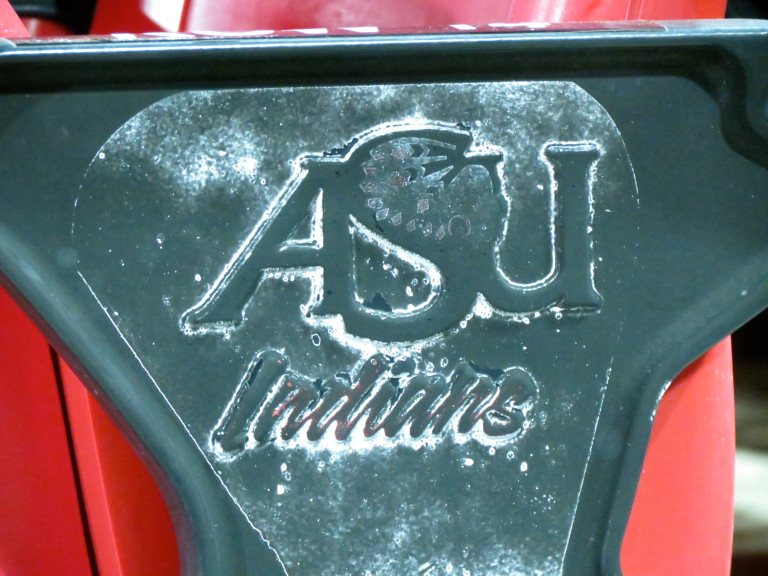 A little history left behind on the seats at Centennial Bank Stadium