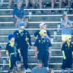 These Toledo fans stayed long after the game was in the bag